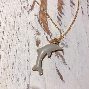 GRAY DOLPHIN NECKLACE